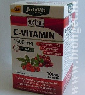 C-vitamin 1500 mg 100db