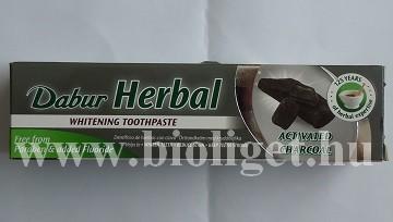 fehérítő fogkrém aktív szénnel