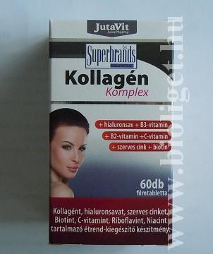 kollagén komplex tabletta