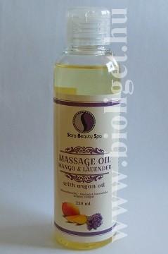 mangó levendula masszázsolaj
