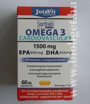 omega 3 cardiovascular kapszula
