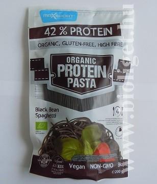protein pasta fekete bab spagetti