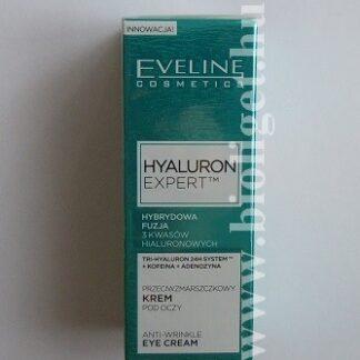hyaluron expert bőrfiatalító szemránckrém