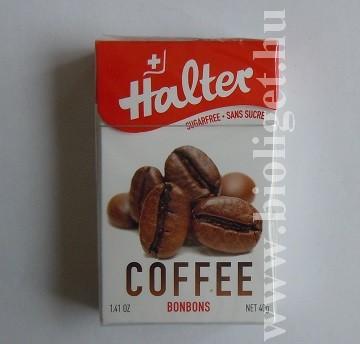 Halter kávés bonbon csokoládéval