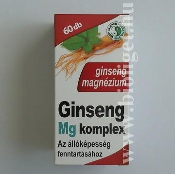 ginseng magnézium komplex