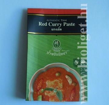 vörös curry paszta
