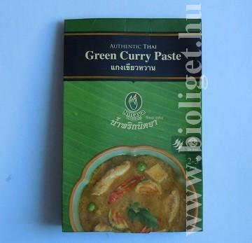 zöld curry paszta