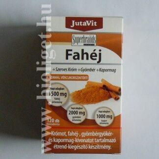 fahéj tabletta krómmal gyömbérrel