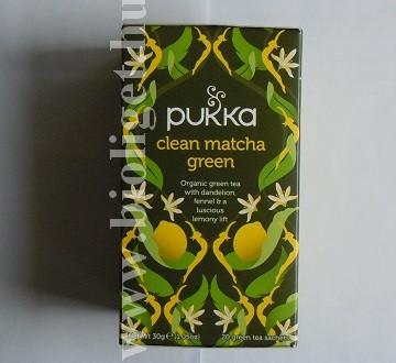 matcha zöld tea citrommal