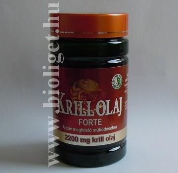 Krill olaj Forte kapszula