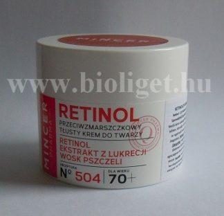 Retinol bőrregeneráló feszesítő arckrém