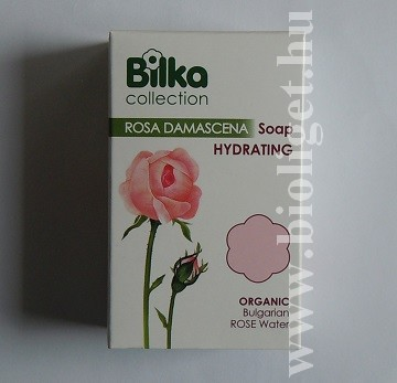 Bilka szappan damaszkuszi rózsavízzel
