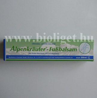Alpenkrauter fussbalzsam