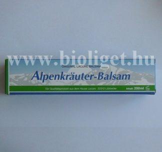 Alpesi gyógynövény balzsam