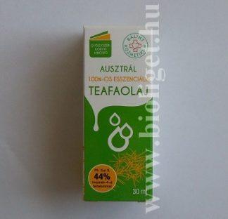 esszenciális teafaolaj