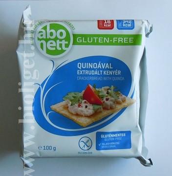 Abonett extrudált kenyér quinoával