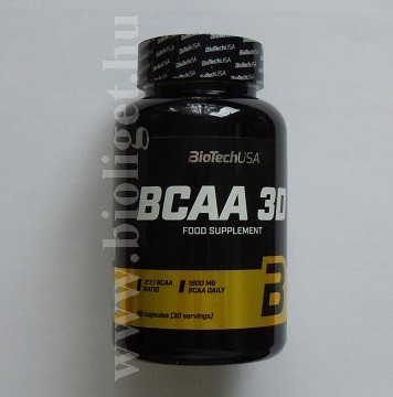 BCAA 3D kapszula