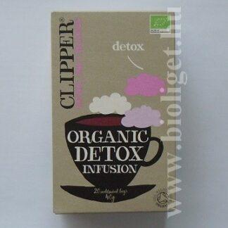 clipper detox bio méregtelenítő tea
