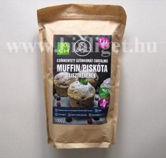 csökkentett szénhidrát-tartalmú muffin