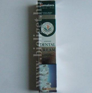 Ajurvédikus fogkrém sóval