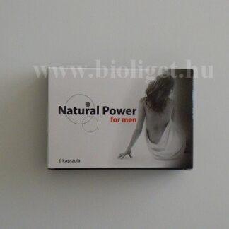 Natural power for men kapszula