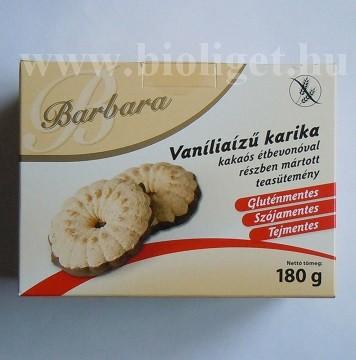 Barbara vanília ízű karika