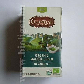 Celestial bio matcha zöld tea