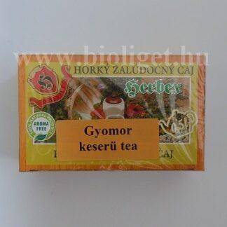 gyomorkeserű tea
