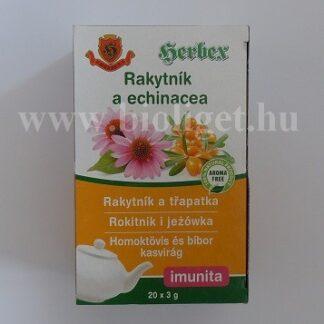 homoktövis és bíbor kasvirág tea