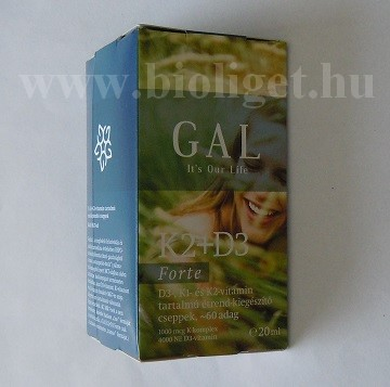 GAL K2 + D3 forte