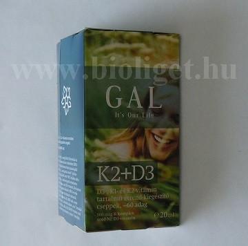 GAL K2 + D3 csepp