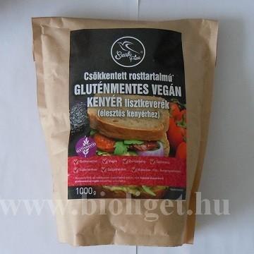 Szafi csökkentett rosttartalmú gluténmentes kenyér