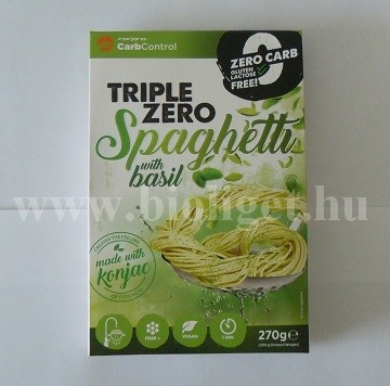 zéró kalóriás bazsalikomos spagetti