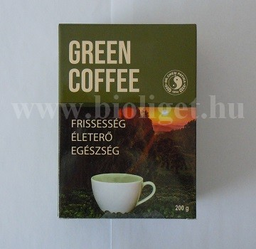 őrölt zöld kávé