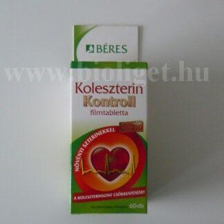 koleszterin kontroll filmtabletta