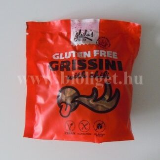 Glulus cukormentes chilis grissini