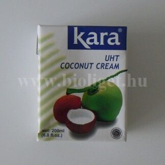 Kara kókuszkrém