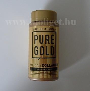 Pure Gold málnás halkollagén por