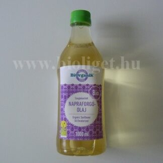 Biorganik bio napraforgó olaj szagtalanított