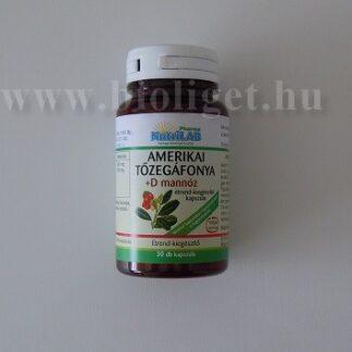 Nutrilab Amerikai tőzegáfonya + D-mannóz kapszula