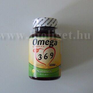 Natures Prime Omega 3 6 9 komplex kapszula