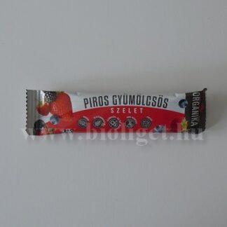 Piros gyümölcsös paleo szelet - Organika