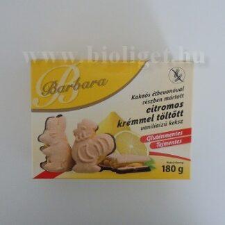 Barbara citromkrémes vaníliás keksz