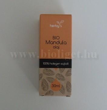 Herbys bio mandulaolaj 30 ml