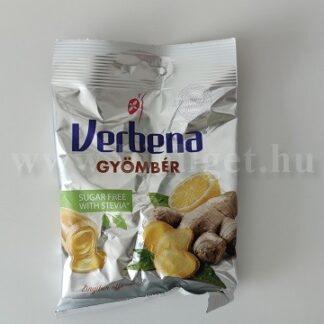Cukormentes gyömbér cukor - Verbena
